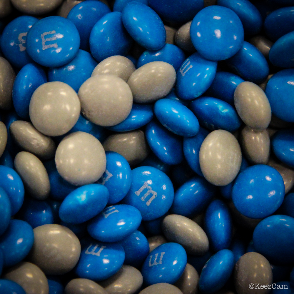 Brooklyn Blue Night M&M's