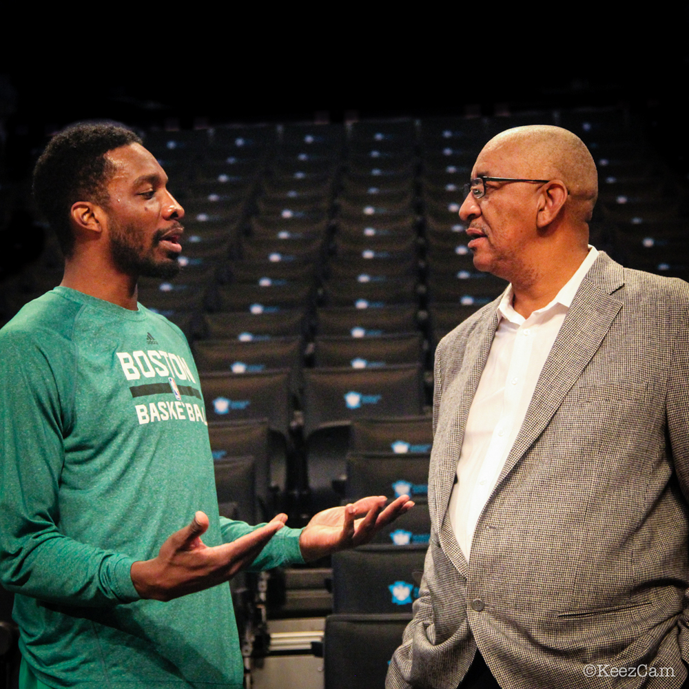 "Jeff Green & George ""The Iceman"" Gervin"