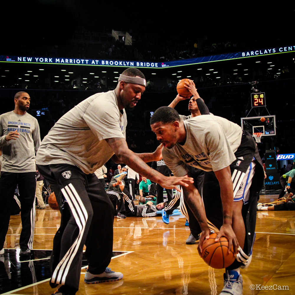 Andray Blatche & Joe Johnson