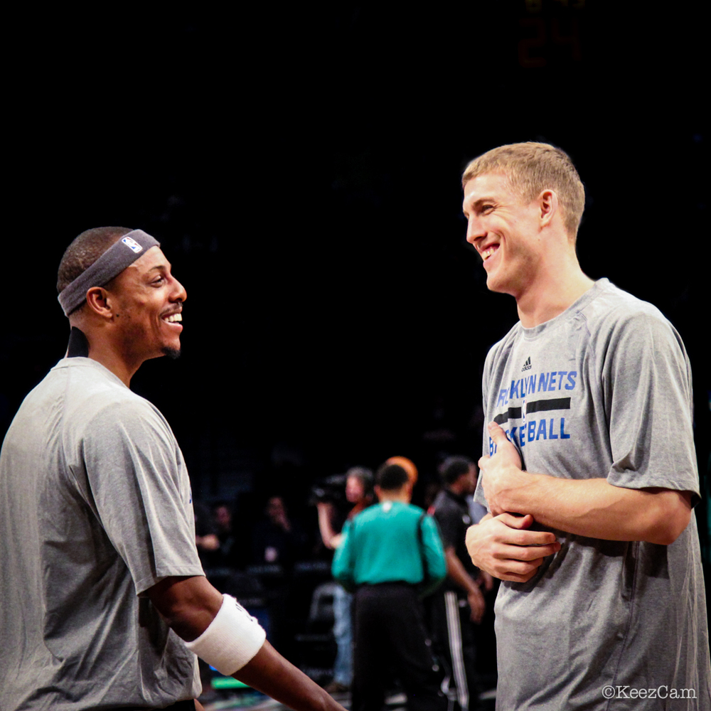 Paul Pierce & Mason Plumlee