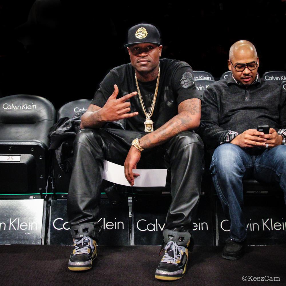 Stephen Jackson salutes the Keezcam