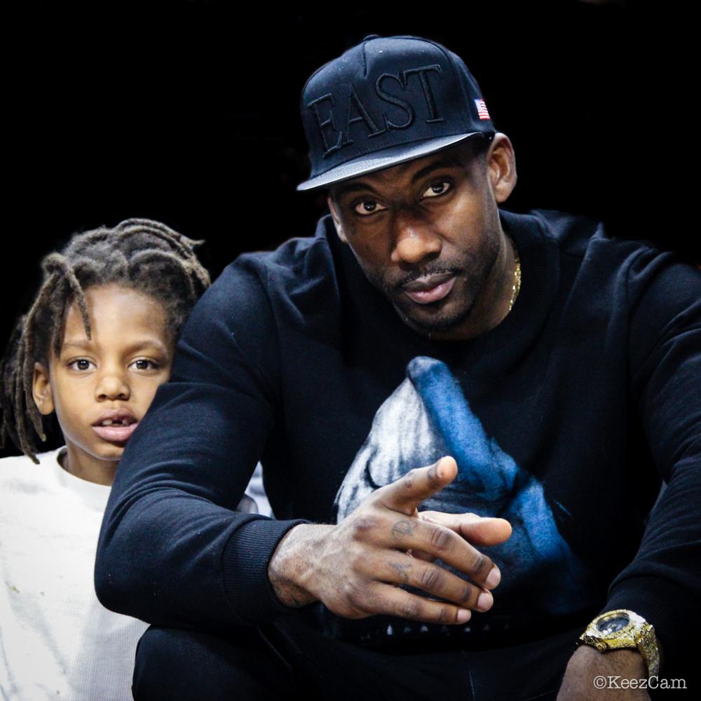 Amare JR. & Amare Stoudemire