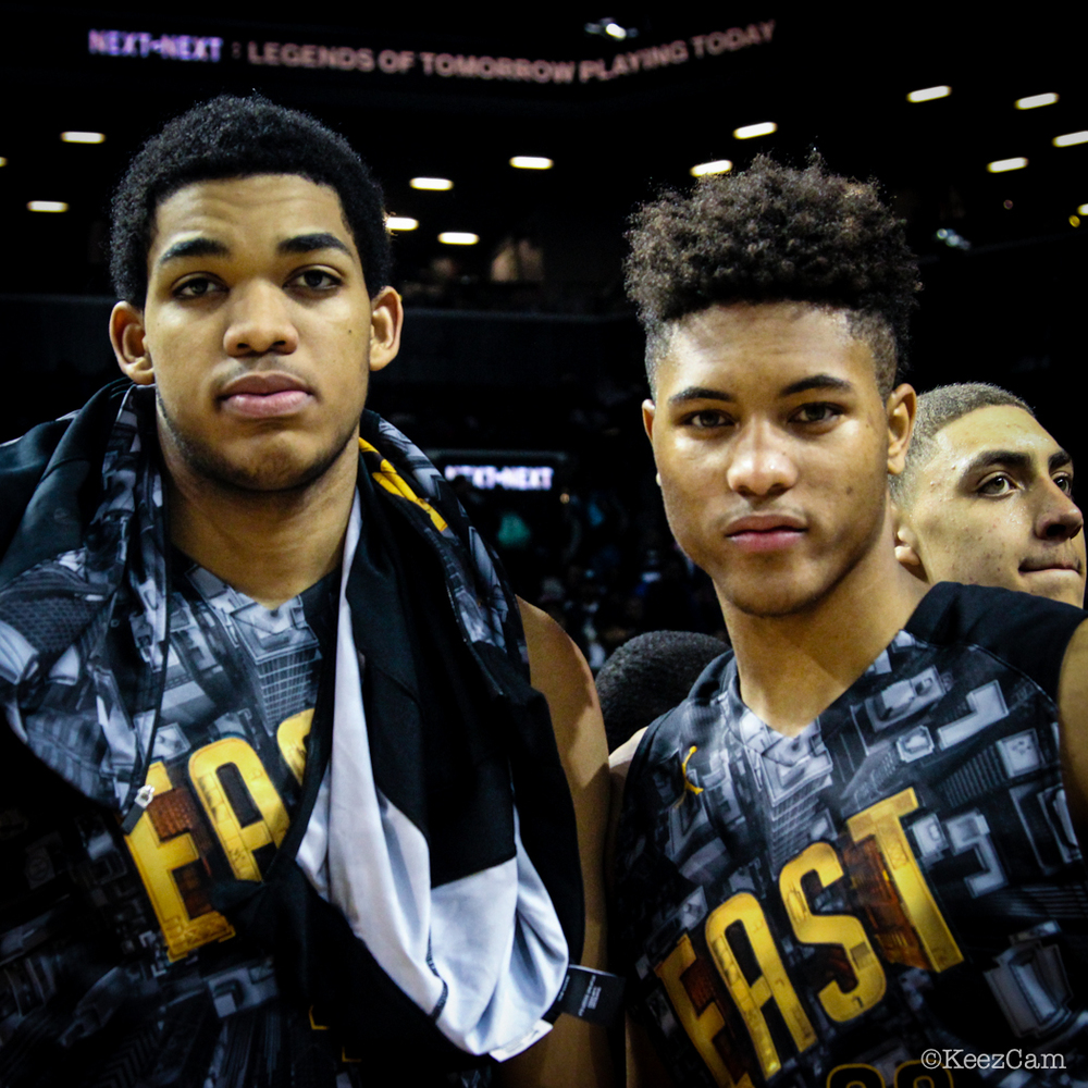 Karl Towns & Kelly Oubre