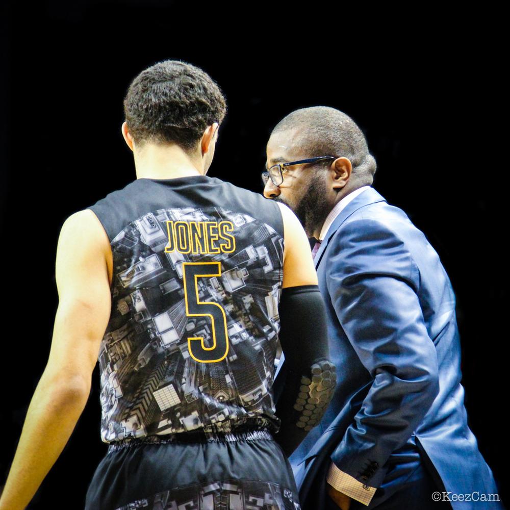 Tyus Jones & Head Coach Tyrone Slaughter