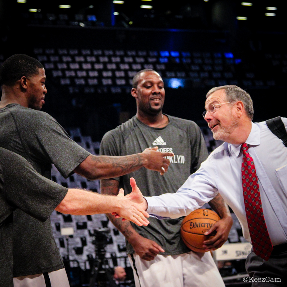 Joe Johnson, Andray Blatche & P.J. Carlesimo