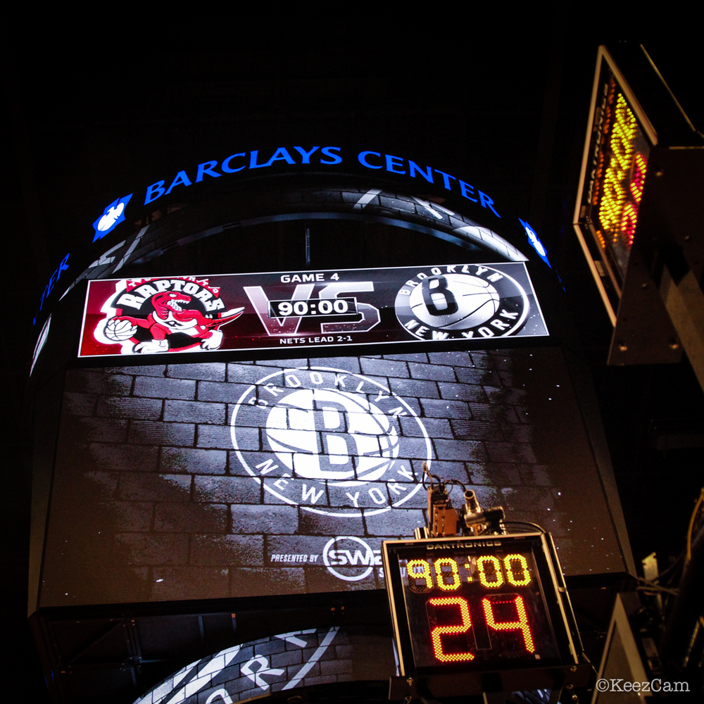 Game 4 Toronto vs Brooklyn