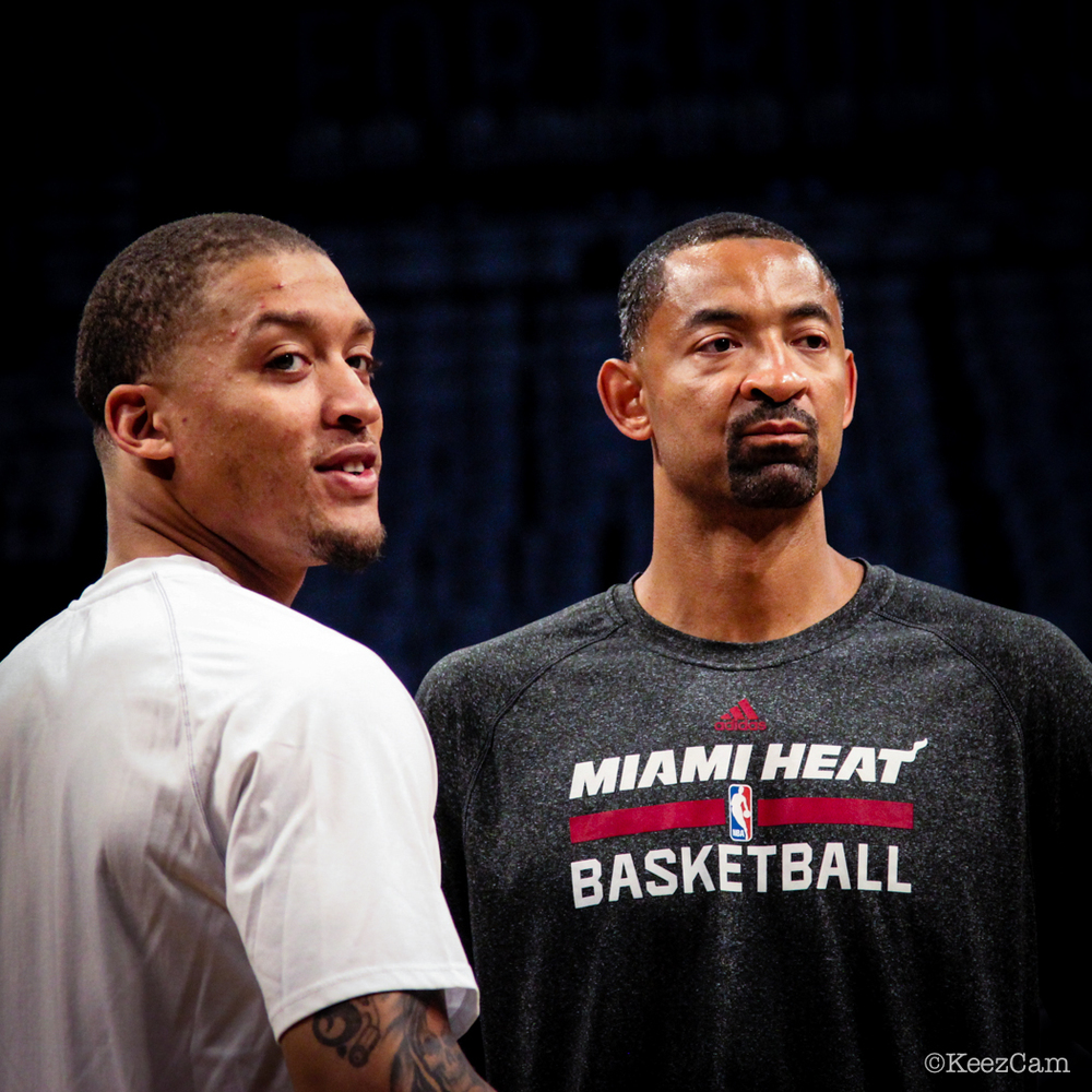 Michael Beasley & Juwan Howard