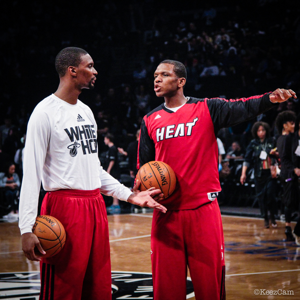 Chris Bosh & James Jones
