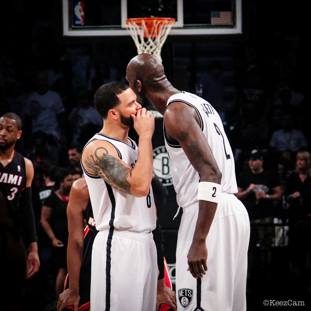 Dwill & KG ready for tip-off vs Miami Heat