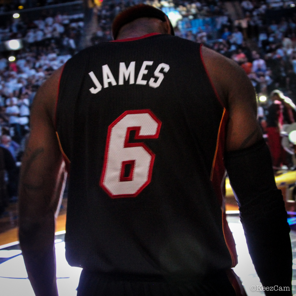 Lebron James Game 3 Ready vs. Brooklyn