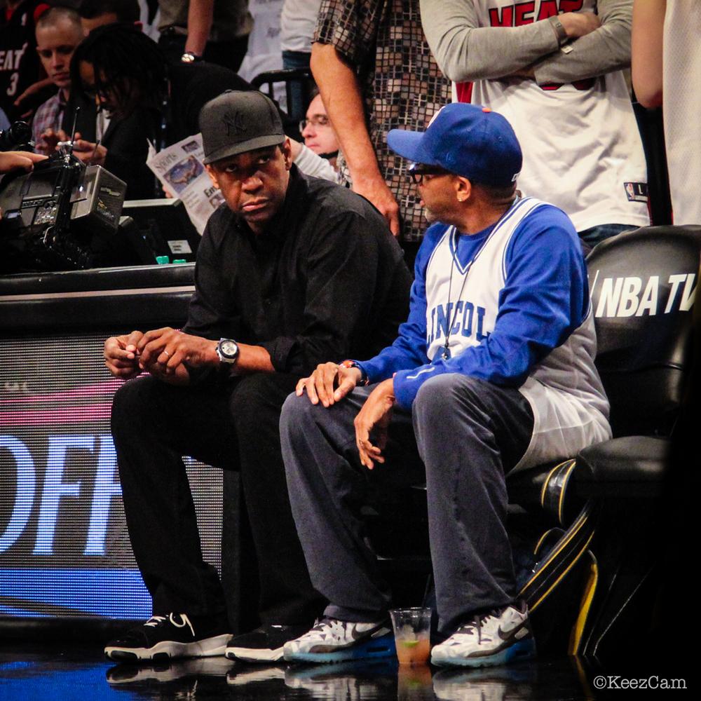 Denzel Washington & Spike Lee