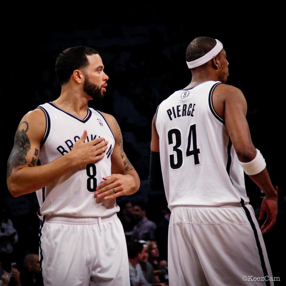 Dreron Williams & Paul Pierce