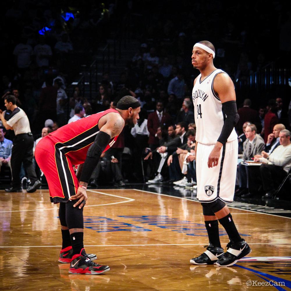 LeBron James & Paul Pierce