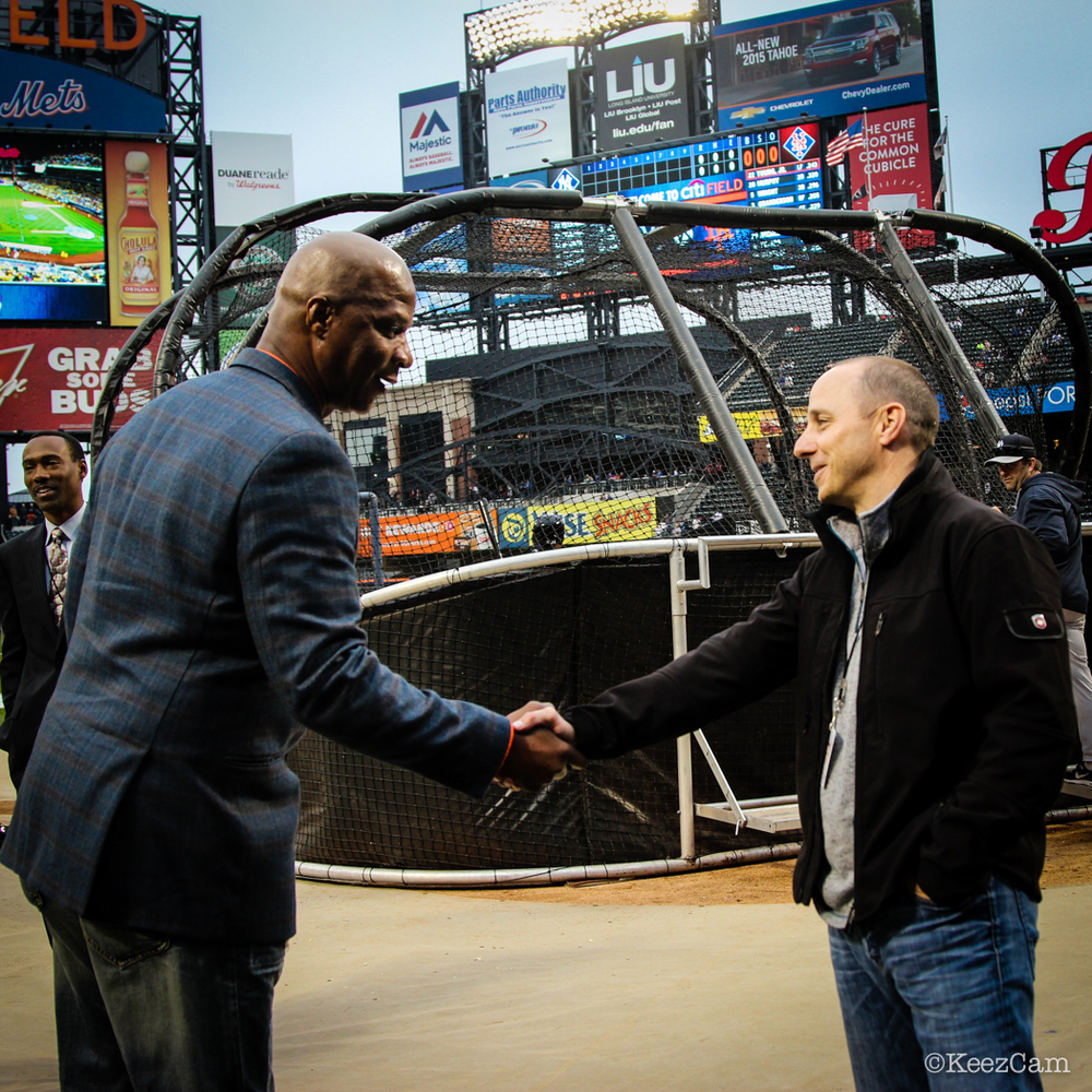 Darryl Strawberry & Brian Cashman