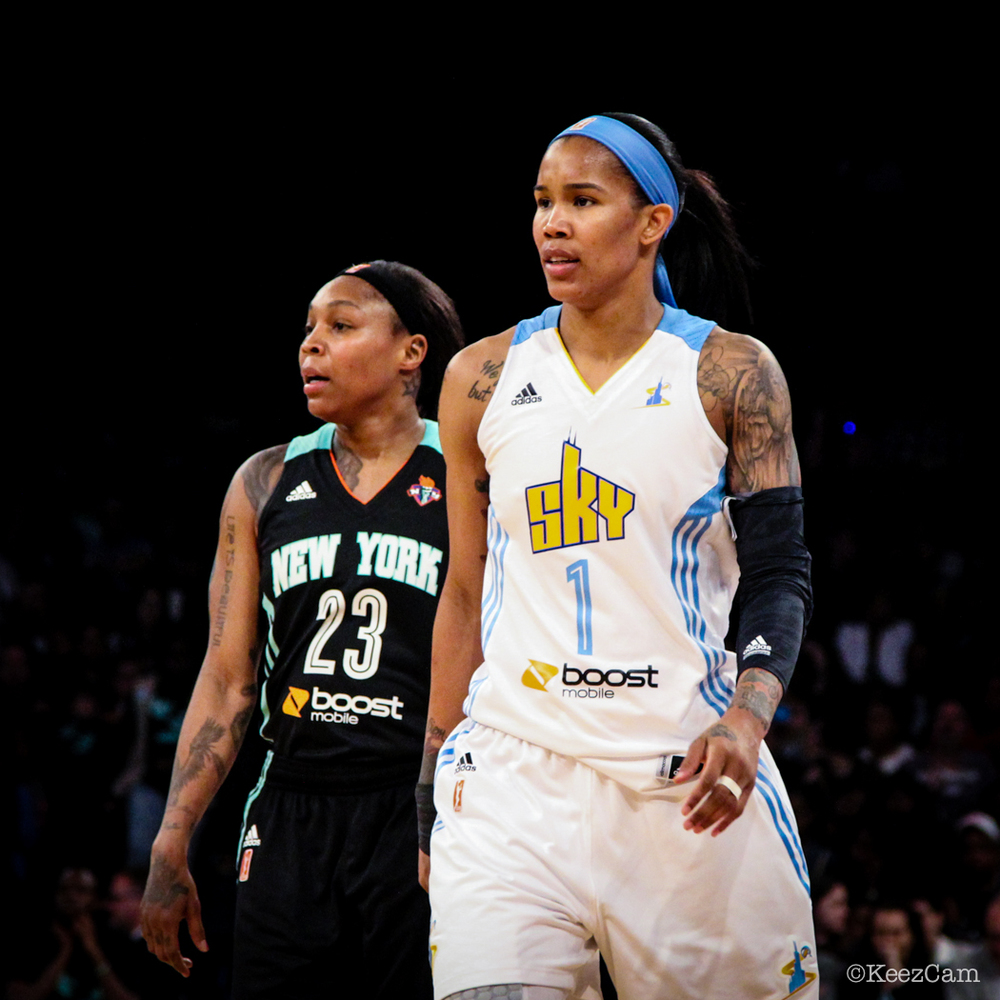 Cappie Pondexter & Tamera Young