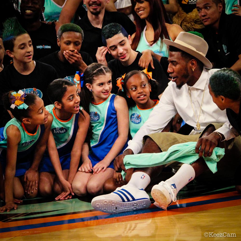 Shump & the New York Liberty Kids.