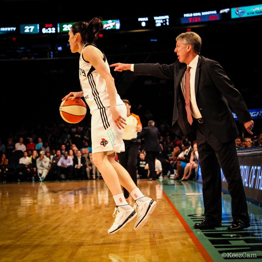 Anna Cruz & Seattle Storm Head Coach Brian Agler