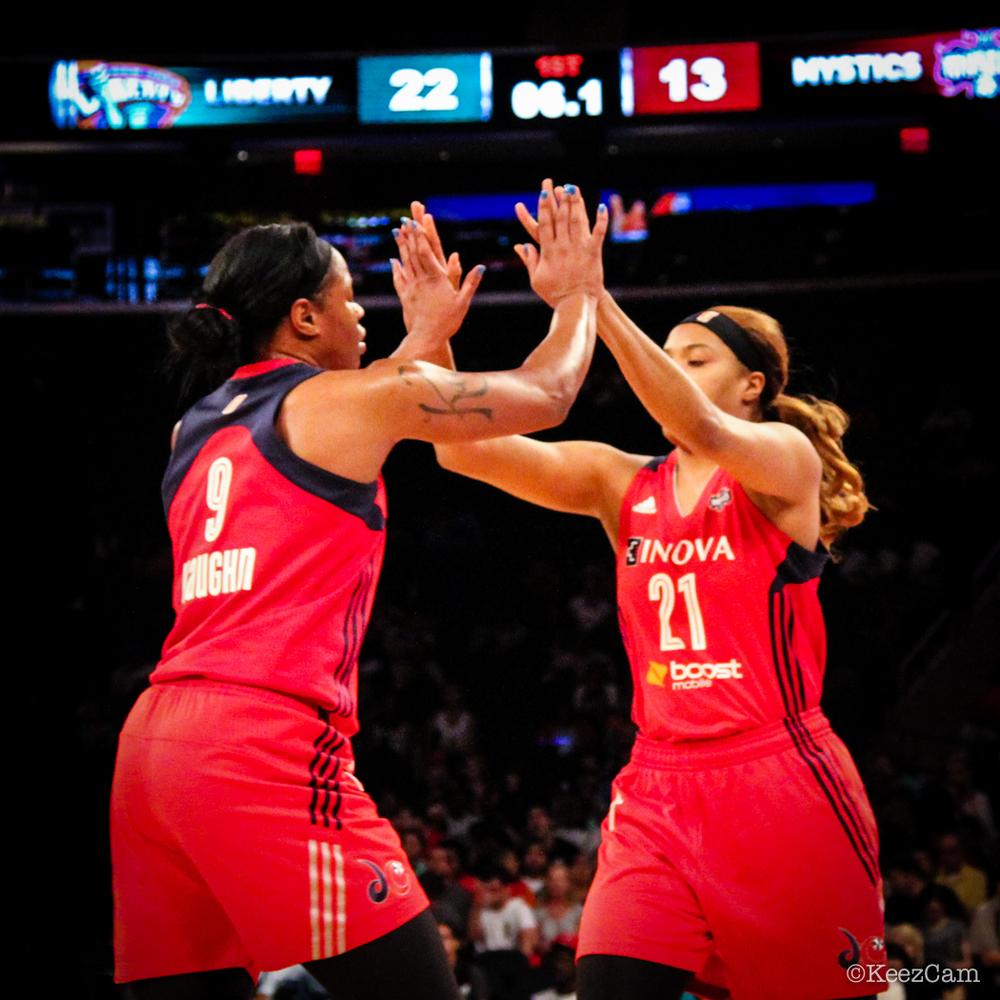 Kia Vaughn & Tianna Hawkins