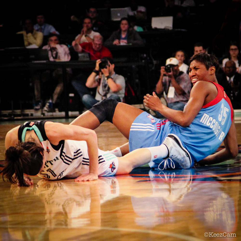 Anna Cruz & Angel McCoughtry