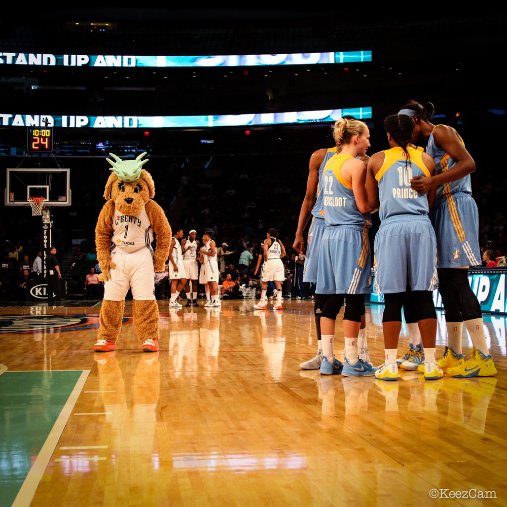 Chicago Sky vs. New York Liberty