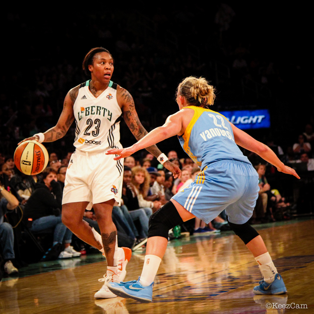 Cappie Pondexter & Courtney Vandersloot