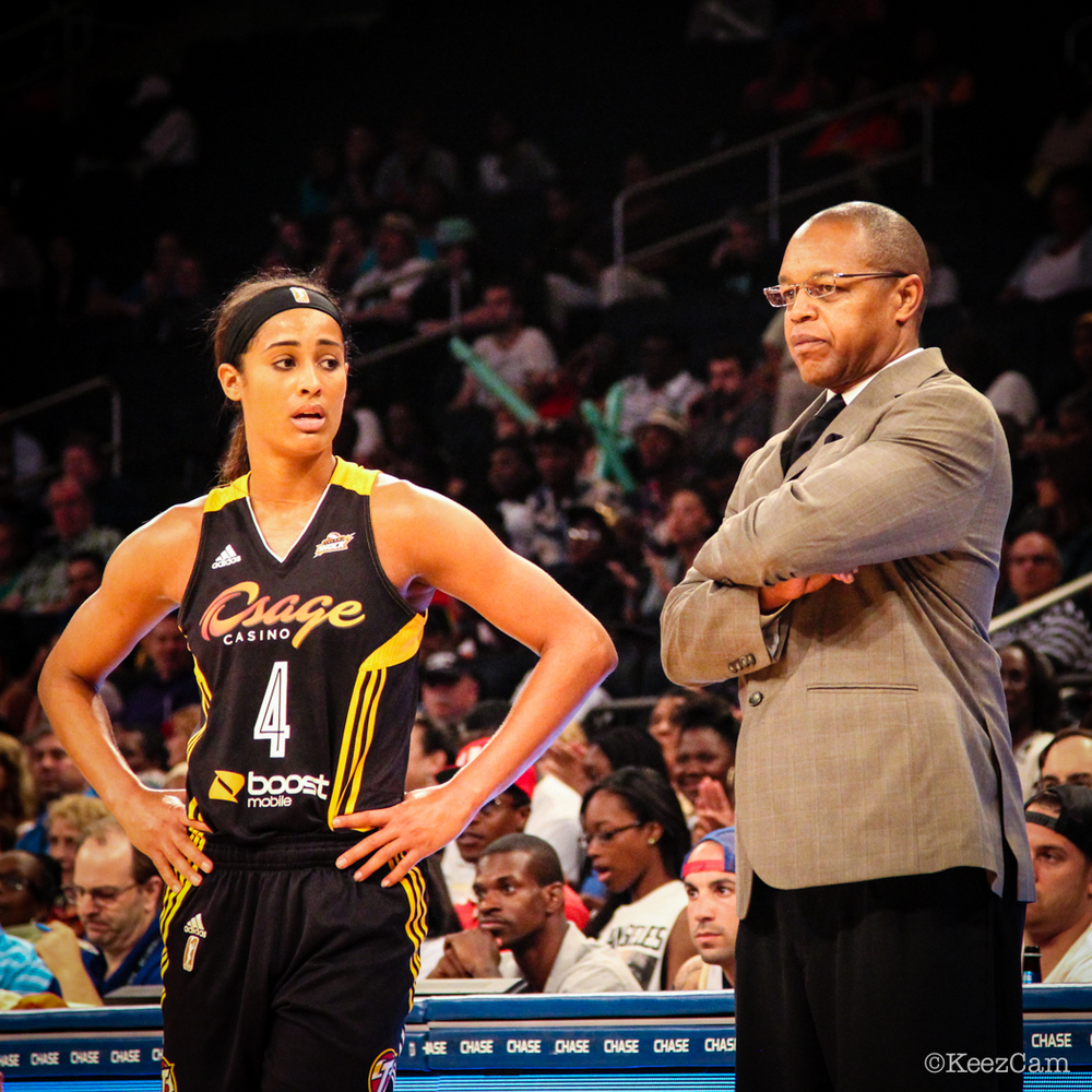 Skylar Diggins & Fred Williams