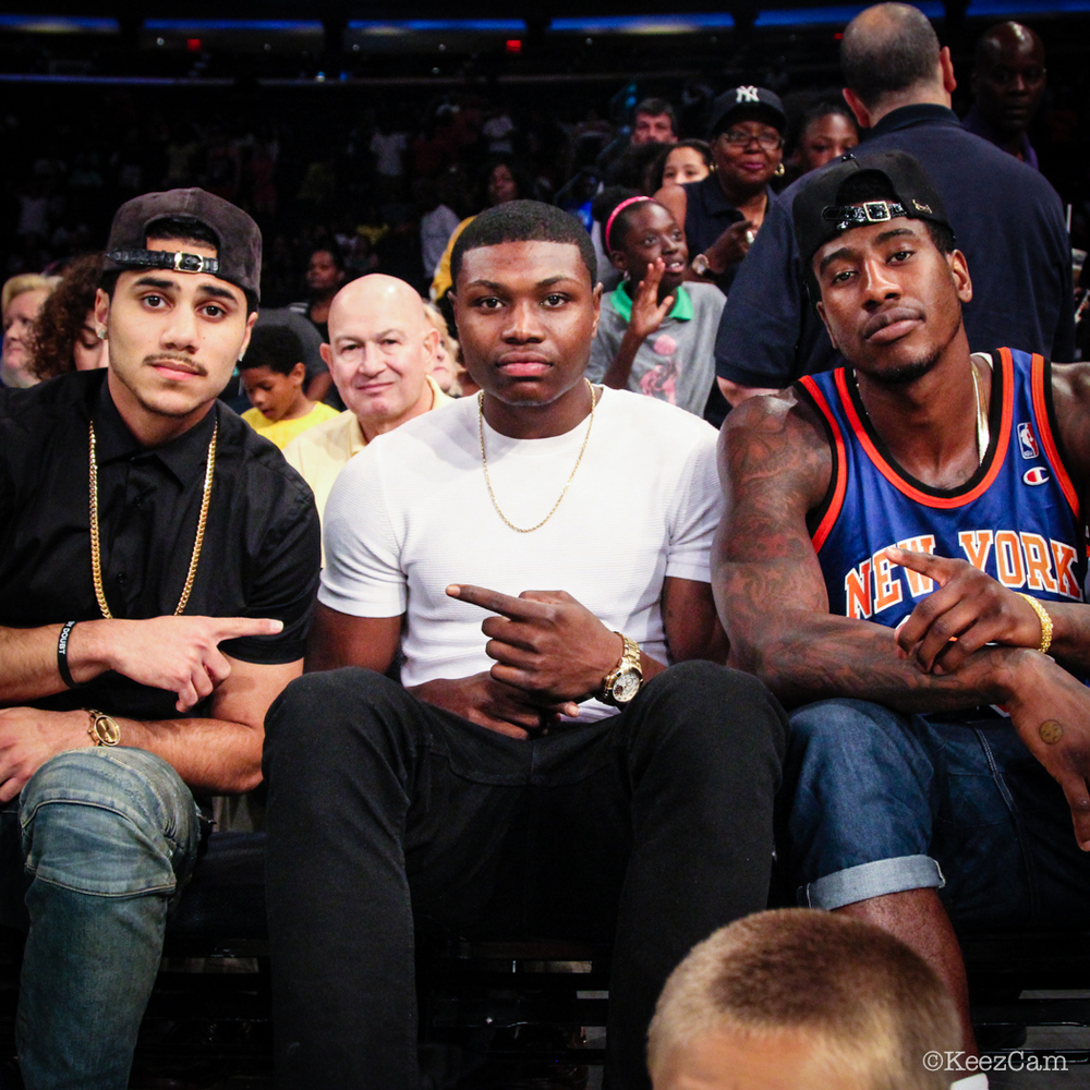Shane Larkin, Cleanthony Early & Iman Shumpert