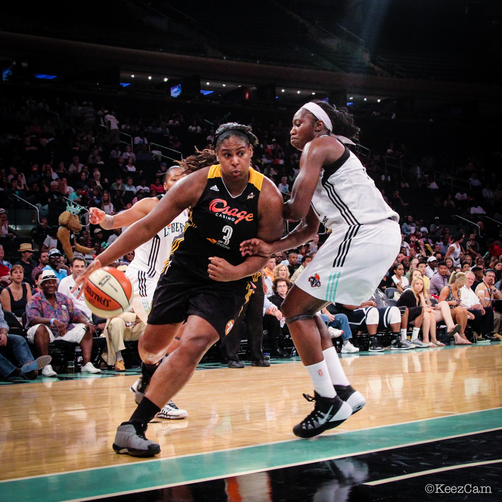 Courtney Paris & Tina Charles