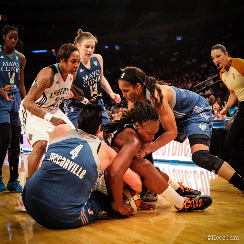 Cappie Pondexter, Janel McMarville, Charde Houston & Maya Moore