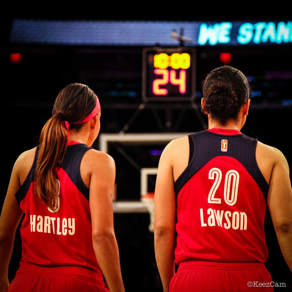 Bria Hartley & Kara Lawson