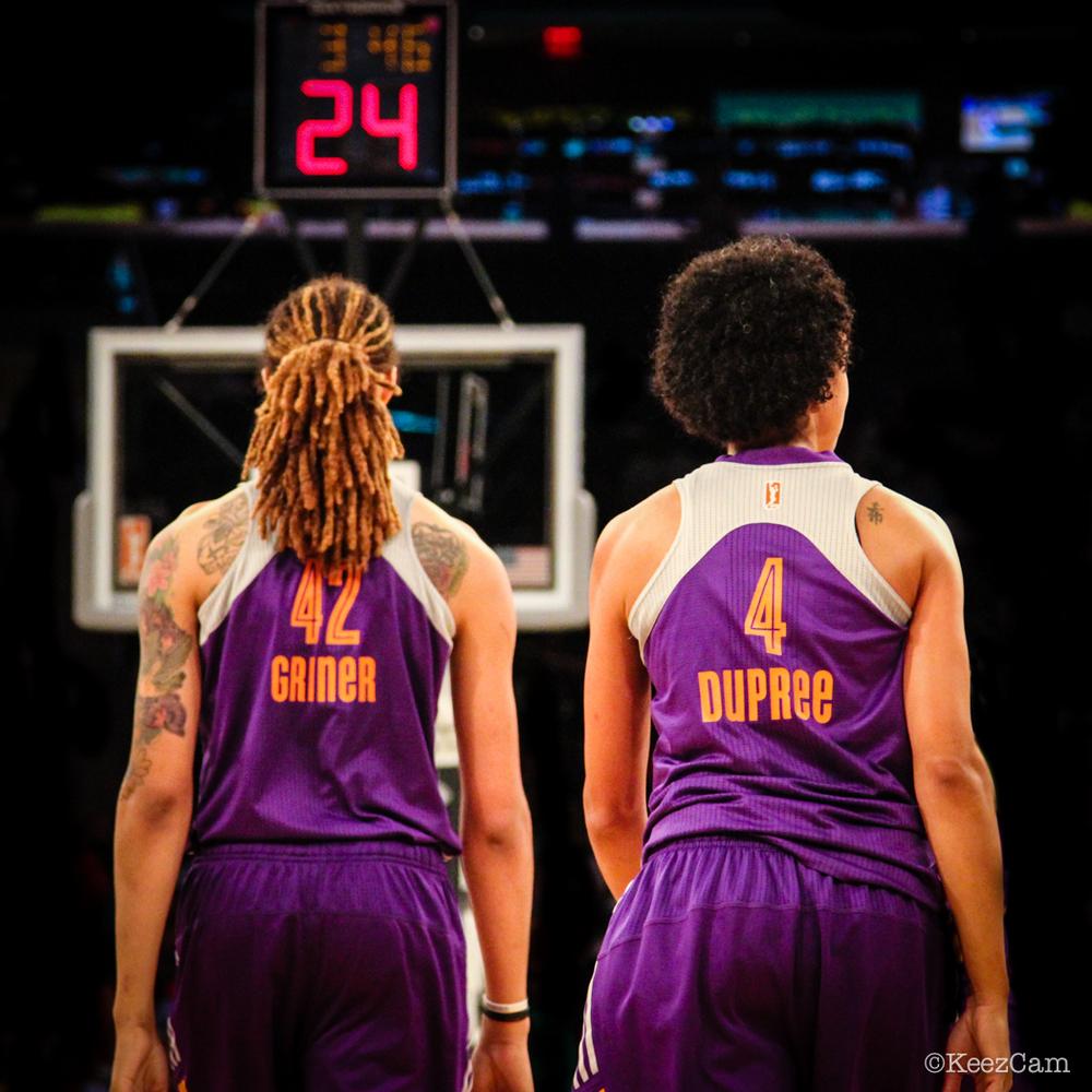 Brittney Griner & Candice Dupree