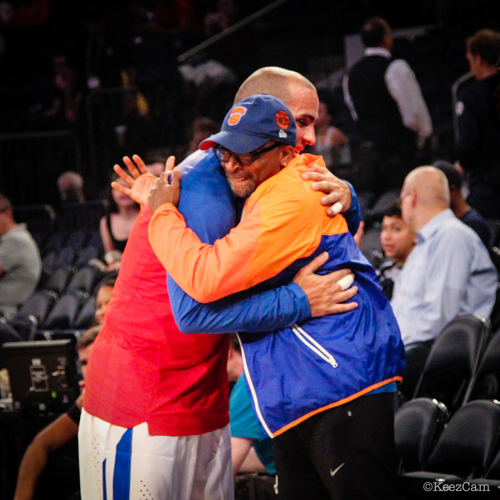 Carlos Arroyo & Spike Lee