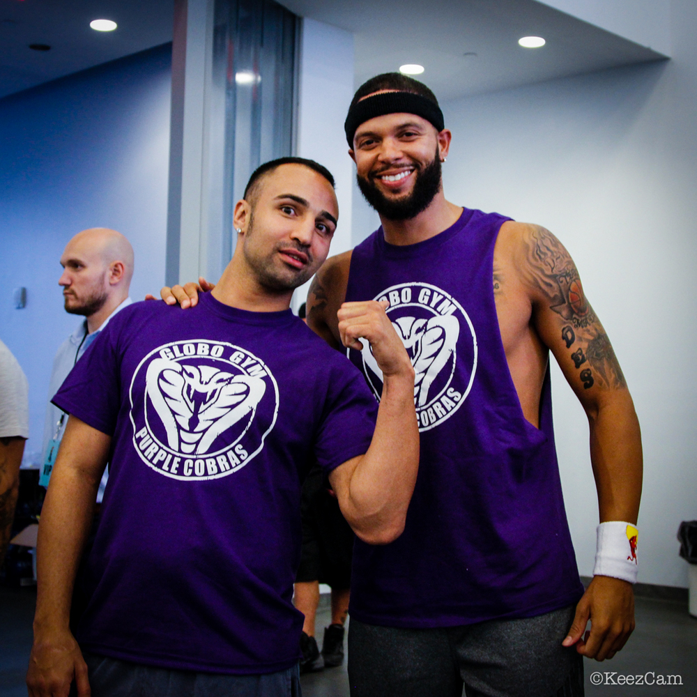 Paulie Malignaggi & Deron Williams