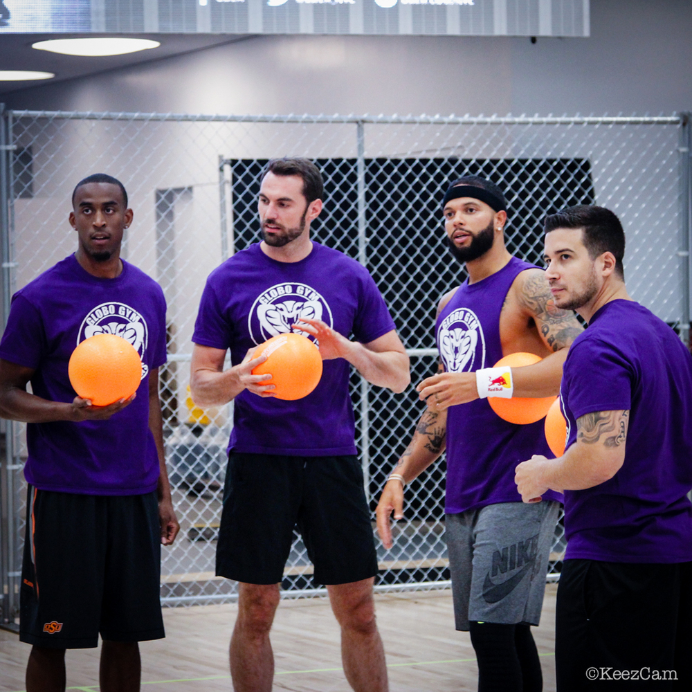 Markel Brown, Matt Targett, Deron Williams & Vinny Guadagnino