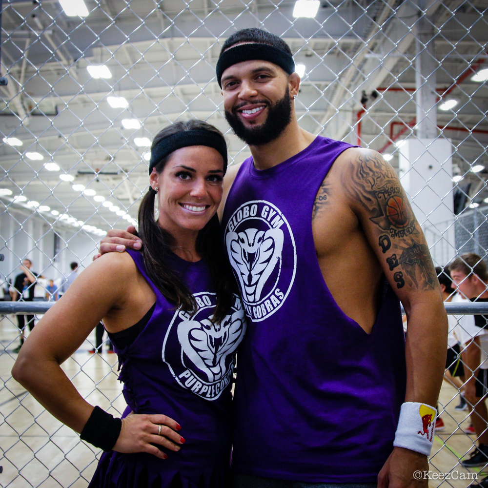 Amy & Deron Williams