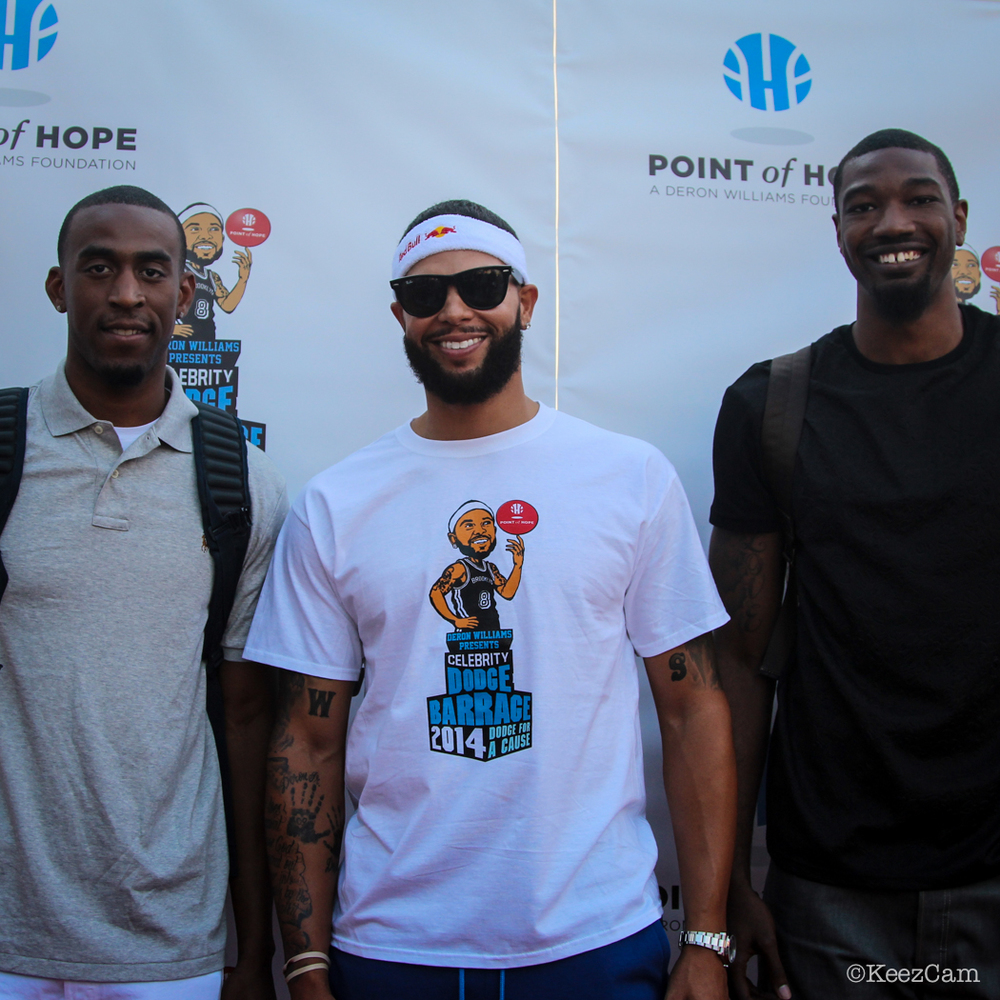 Markel Brown, Deron Williams & Cory Jefferson