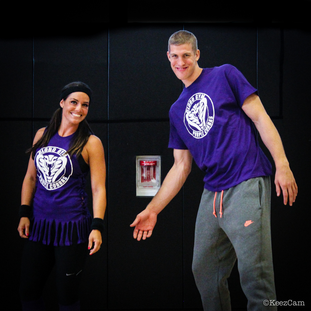 Amy Williams & Mason Plumlee