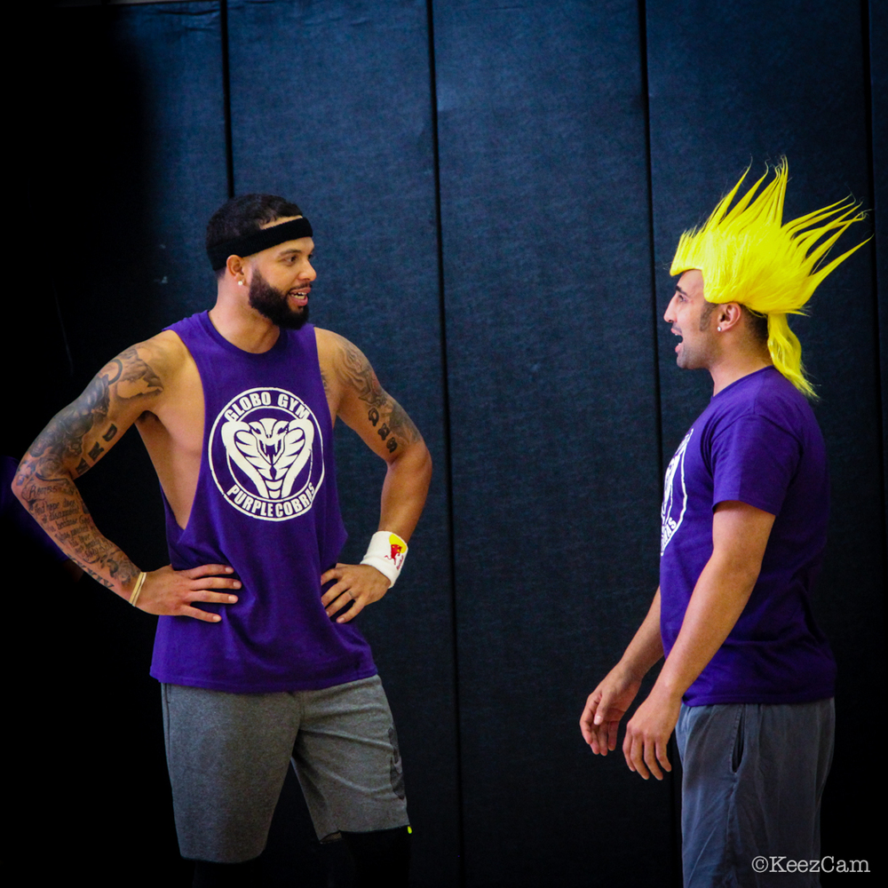 Deron Wiliams just informed Paulie he was traded to the Chicken Heads.