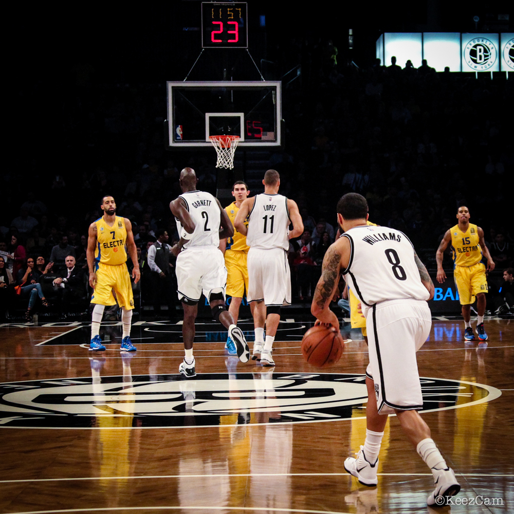 Brooklyn Nets Tip-off