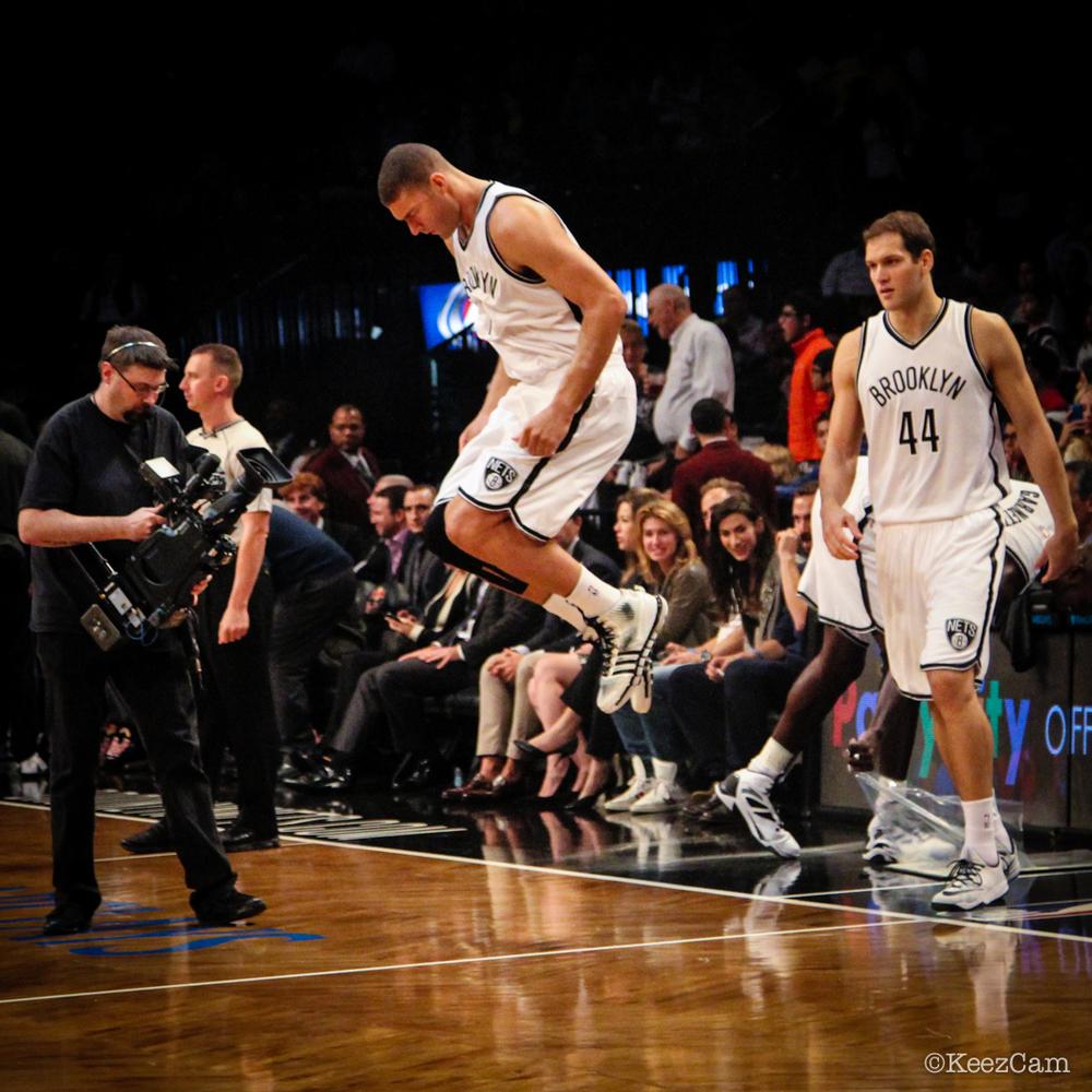 Brook Lopez all set for the 2014-15 NBA season.