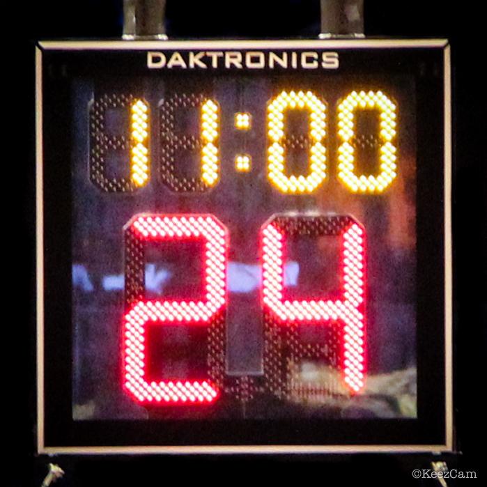 NBA test run in Brooklyn vs. Boston Celtics at Barclays Center.