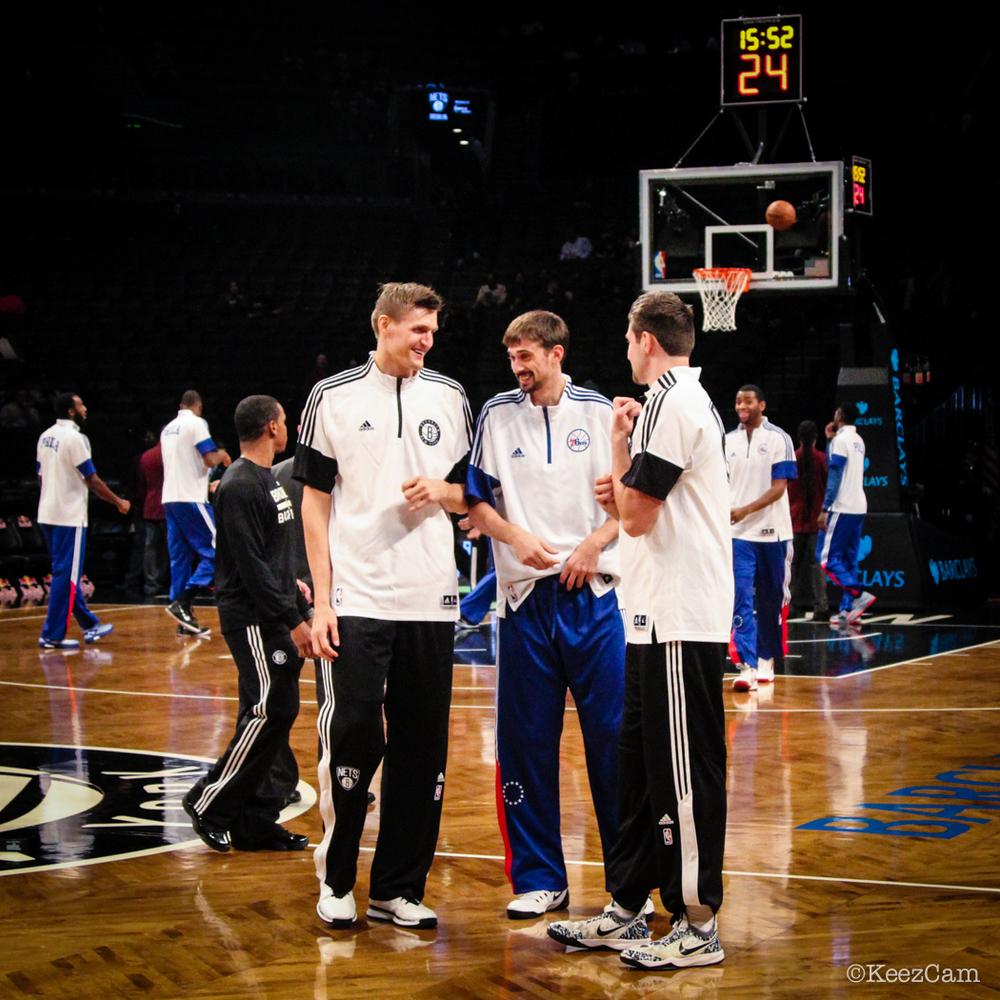 Andrei Kirilenko, Alexey Shved & Sergey Karasev