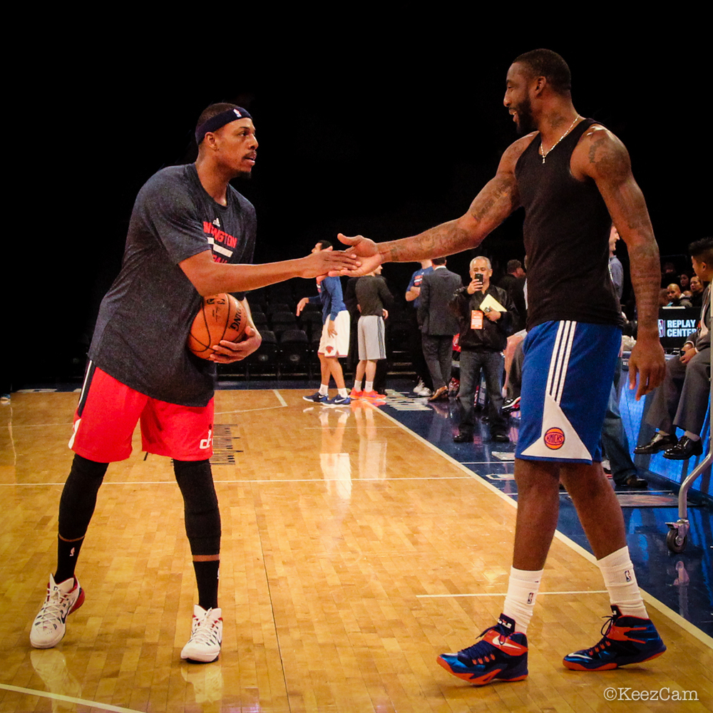 Paul Pierce & Amare Stoudemire