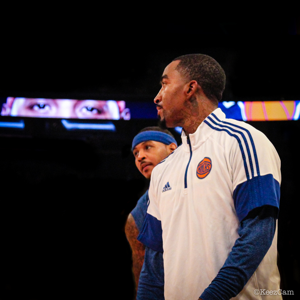 J.R. Smith & Carmelo Anthony