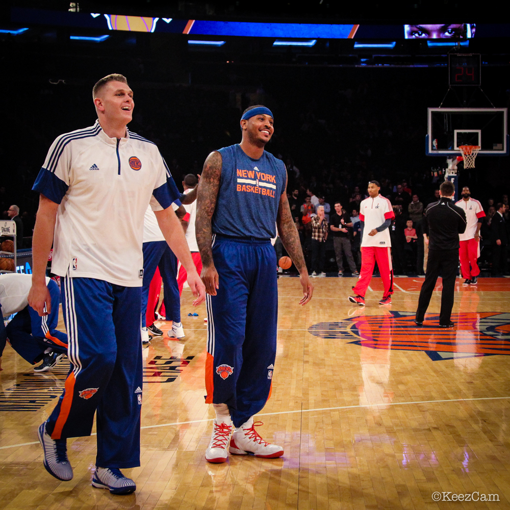 Cole Aldrich & Carmelo Anthony