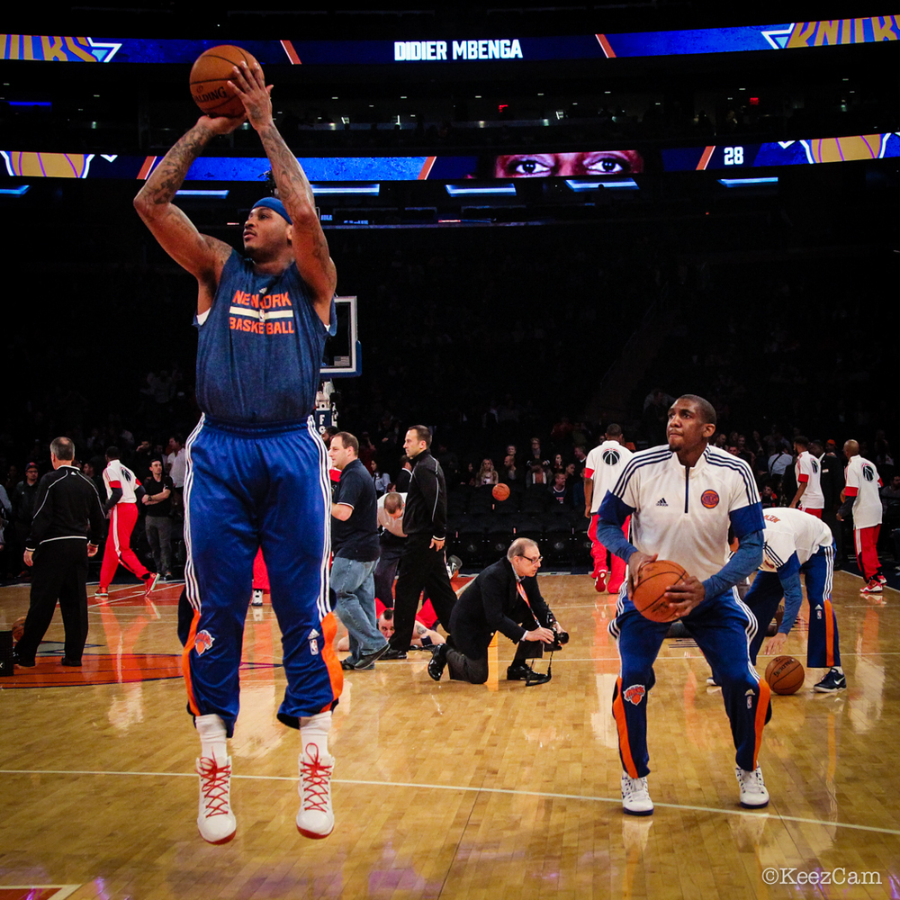 Carmelo Anthony & Langston Galloway