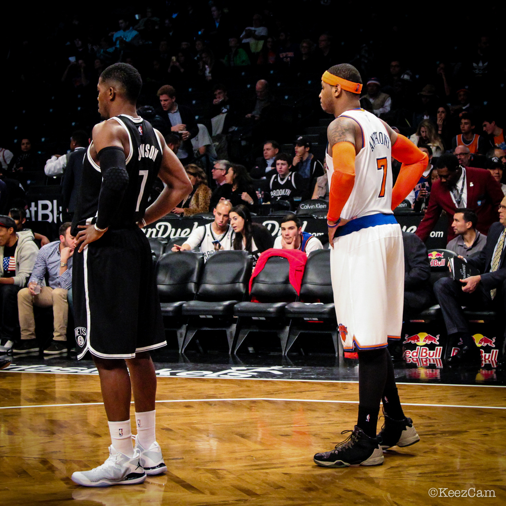 Joe Johnson & Carmelo Anthony