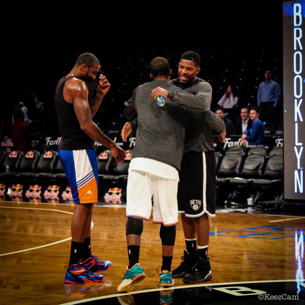 Amare Stoudemire, Joe Johnson & J.R. Smith