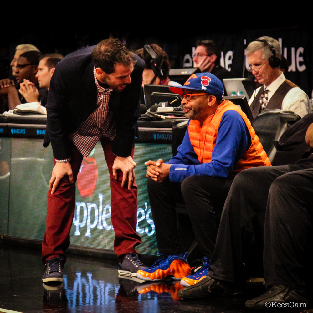 Jose Calderon & Spike Lee