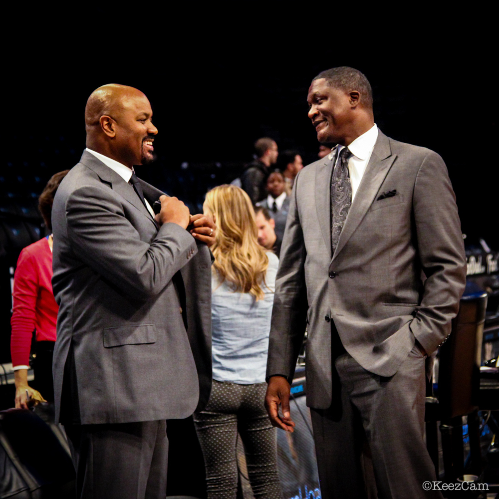 Billy King & Dominique Wilkins